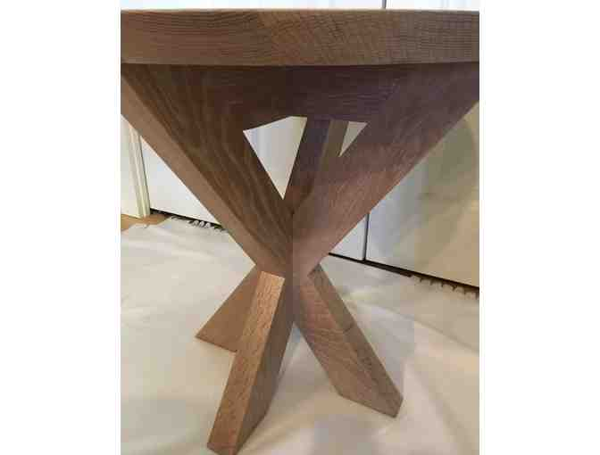 Beautiful one-of-a-kind side table by Huston & Company