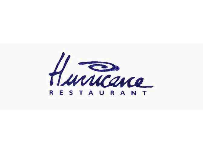 $100 Gift Card from the Hurricane Restaurant