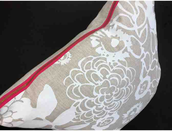 Erin Flett Floral Garden Linen Pillow Set donated by Daytrip Society