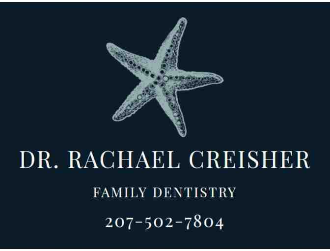 Electric toothbrush and dentistry kit from Rachael Creisher Family Dentistry