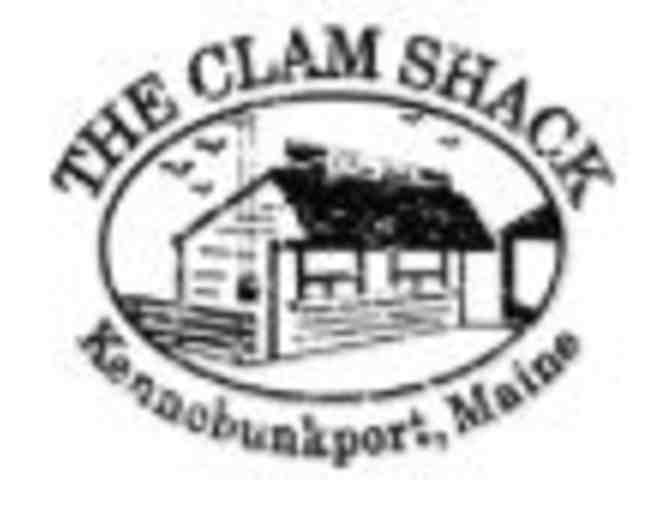 $25 Gift Card to The Clam Shack and a large branded sweatshirt