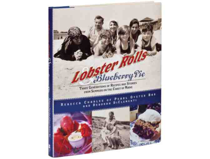 $100 Gift Certificate to Pearl and signed Lobster Rolls & Blueberry Pie Book