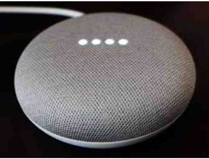 Google Home Mini (charcoal) donated by SmartHome Solutions