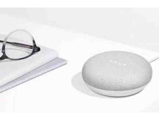 Google Home Mini (chalk) donated by SmartHome Solutions