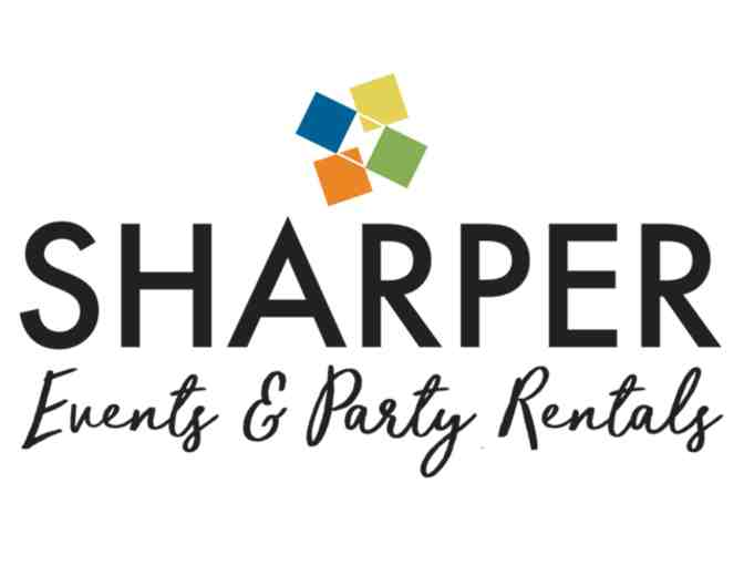 $175 Gift Certificate to Sharper Events & Party Rentals