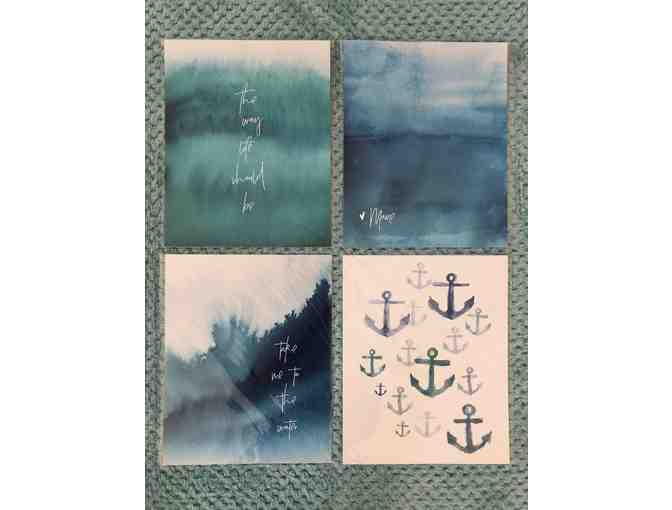 Beautiful, custom Maine themed stationery items from Annie Taylor Design