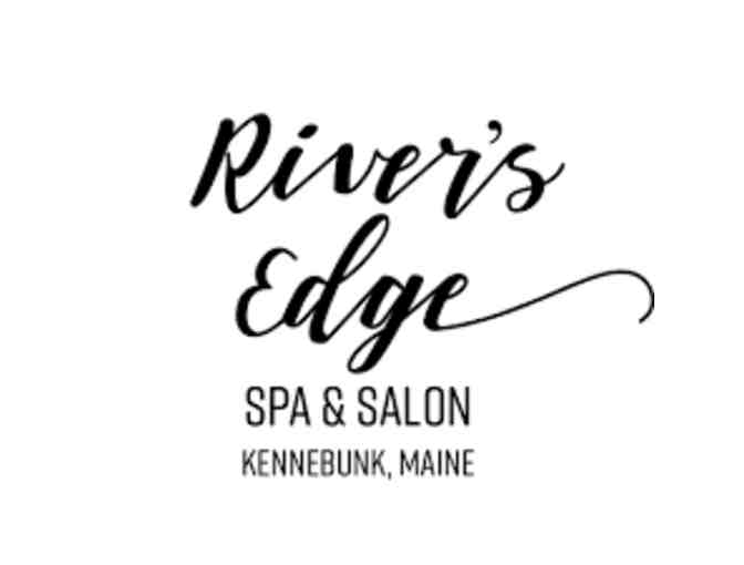$50 Gift Card to River's Edge Spa & Salon donated by Norway Savings Bank
