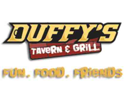 $50 Duffy's Gift Card donated by Red Door Title