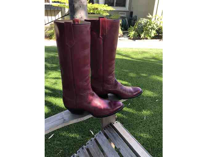 Sam Elliott Boots (Red)