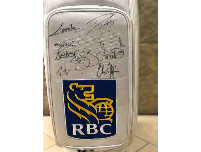 Autographed RBC Golf Bag