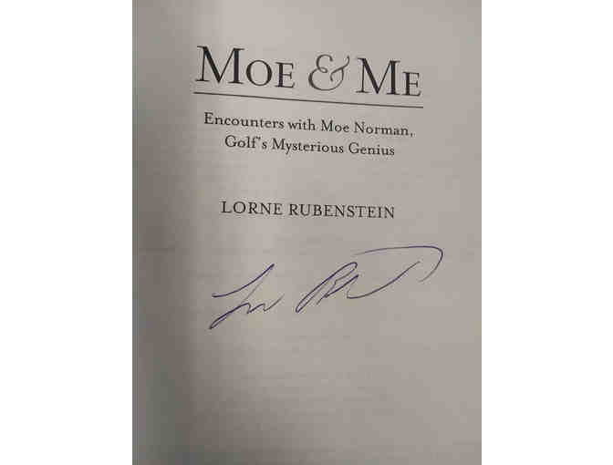 Author Autographed 'Moe & Me' Book