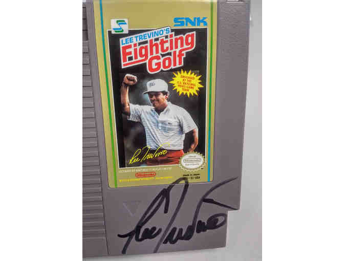 Lee  Trevino Autographed Classic Video Game