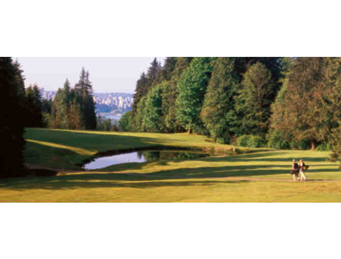 Capilano Golf and Country Club four-some