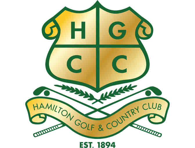 Hamilton Golf & Country Club four-some with lunch