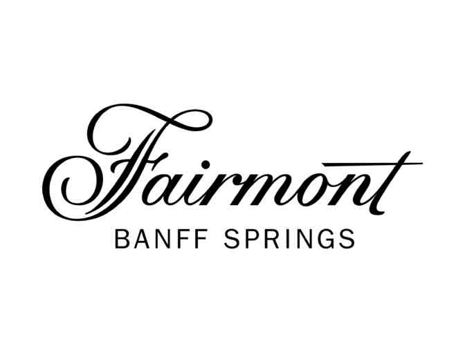 Fairmont Banff Springs two-some