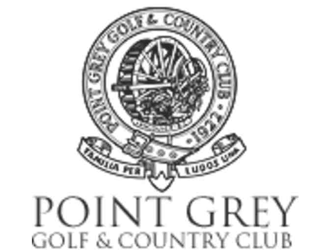 Point Grey Golf & Country Club four-some