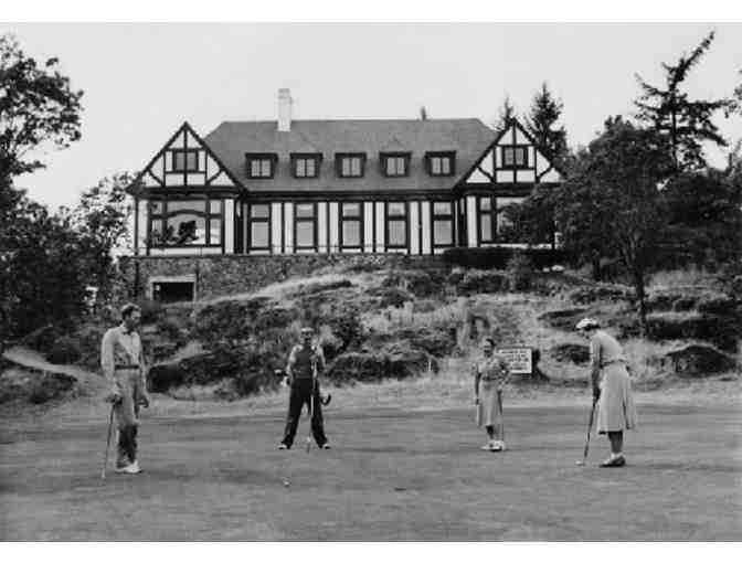 Royal Colwood Golf Club four-some