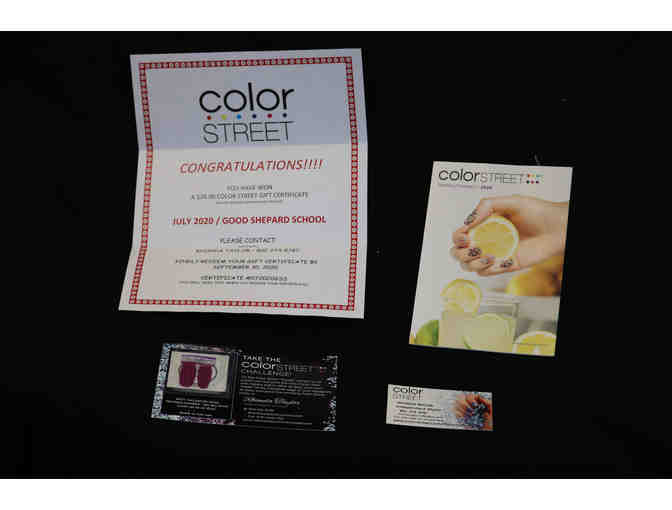 Colorstreet Gift Certificate - Photo 1
