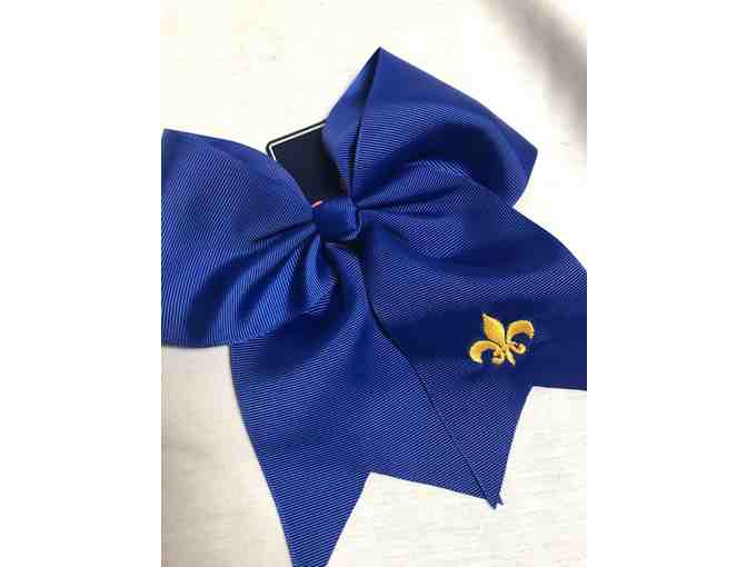 Girls Cheerleading Outfit and Bow - Photo 2