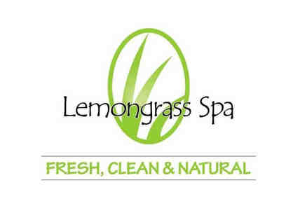 Lemongrass Spa Product $50 Gift Certificate