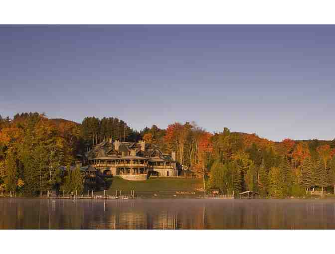 Vacation for Two at the Extraordinary Lake Placid Lodge