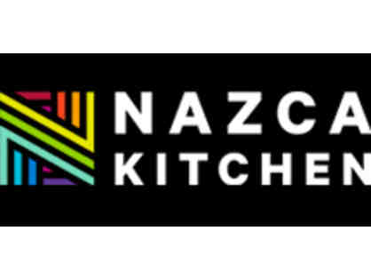 $25 Gift Certificate to HQ Prime Beer Garden or Nazca Kitchen