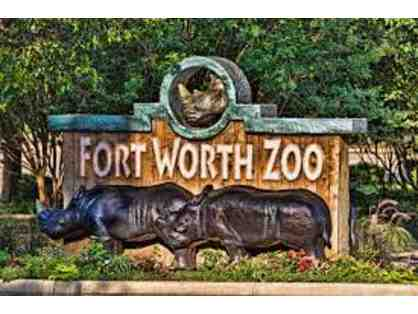 2 Adult Tickets for Fort Worth Zoo