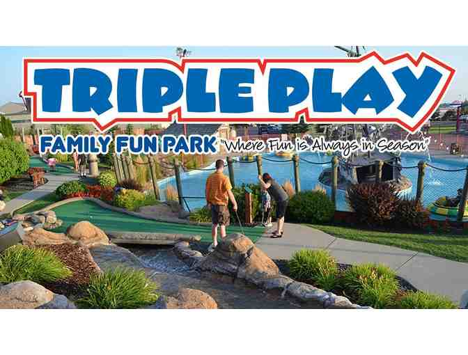 $100 Toward an Overnight stay at Triple Play Resort Hotel & Suites Waterpark - Photo 1