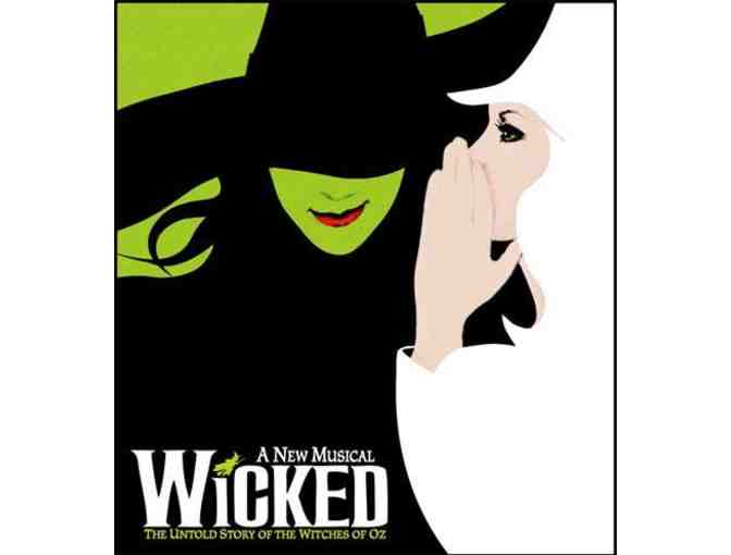 2 Tickets to WICKED with a Backstage Tour AND Autographed Cast Poster - Photo 1