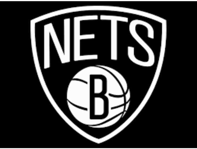 2  Tickets to See the Nets vs. Detroit Pistons on April 1, 2018 - Photo 1