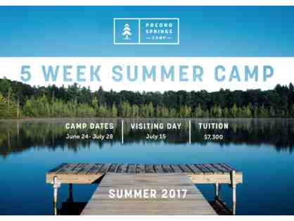 5-Week Session at Pocono Springs Summer Camp