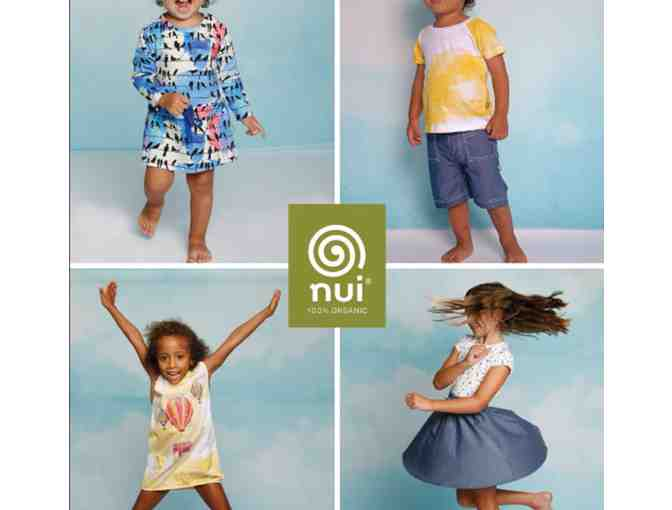 $100 Gift Certificate for Organic Cotton/Wool Childrenswear by Nui Organics - Photo 1
