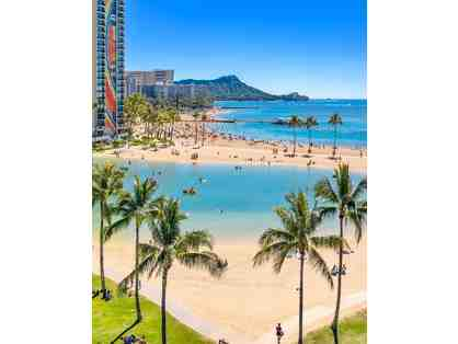 7 Nights at the Hilton Hawaiian Village in Honolulu!