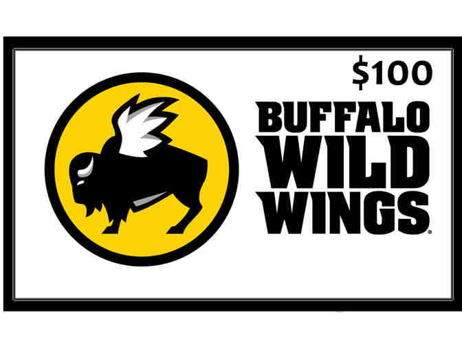 $100 Buffalo Wild Wings Gift Card - Photo 1