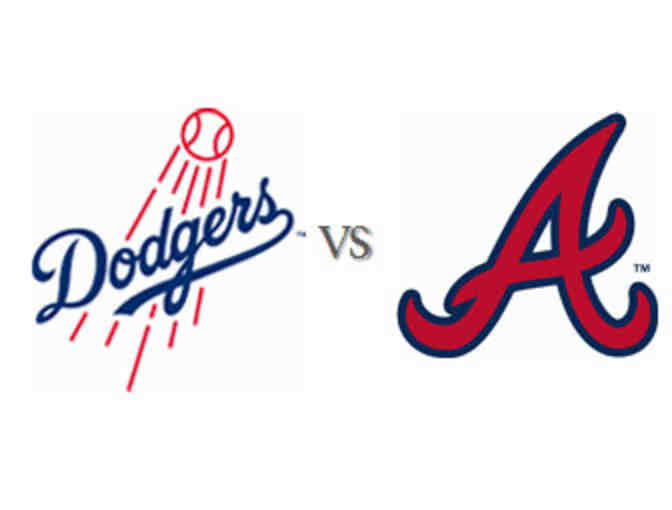 2 Dodgers tickets vs the Braves on Sunday, July 23 at 1:10pm