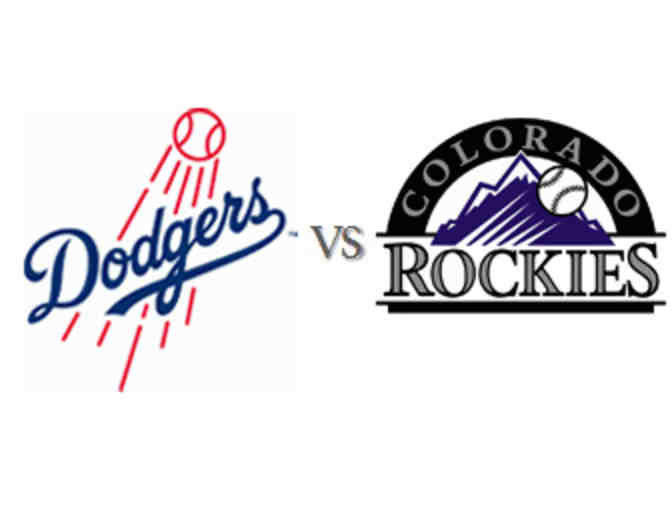 4 Dodgers tickets vs the Rockies on Sunday, June 25 at 1:10pm