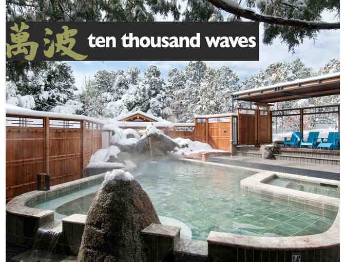$75 Gift Card for Ten Thousand Waves in Santa Fe, NM