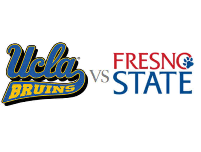 2 UCLA football tickets vs Fresno State on Saturday, September 8