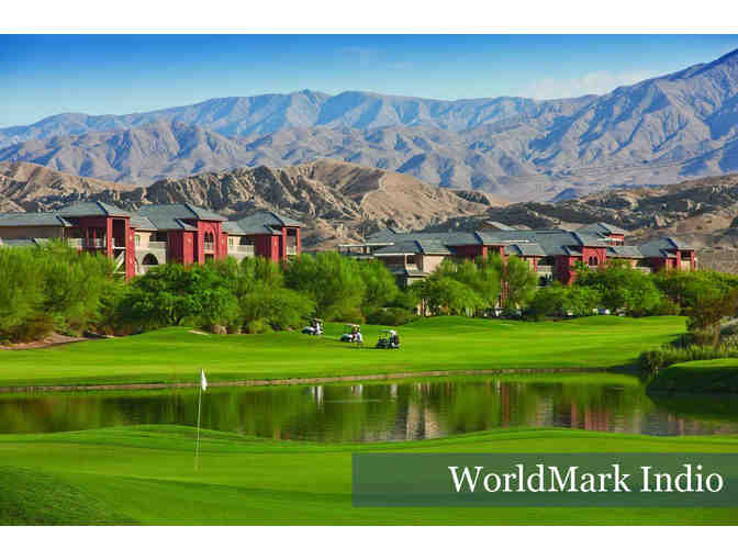 Week at the WorldMark Indio from October 13-20, 2018