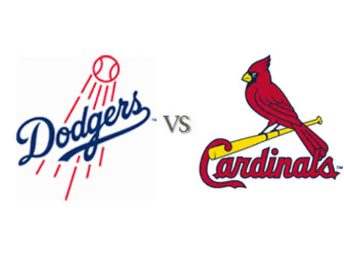 2 Dodgers tickets vs the Cardinals on Monday, August 5 at 7:10pm