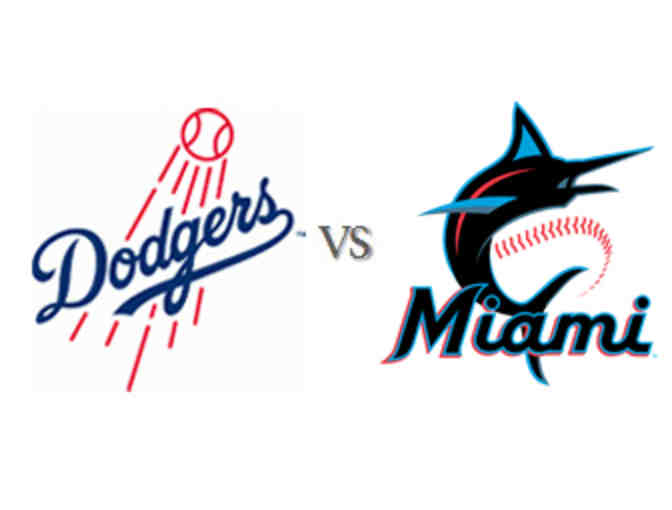 2 Dodgers tickets vs the Marlins on Sunday, July 21 at 1:10pm