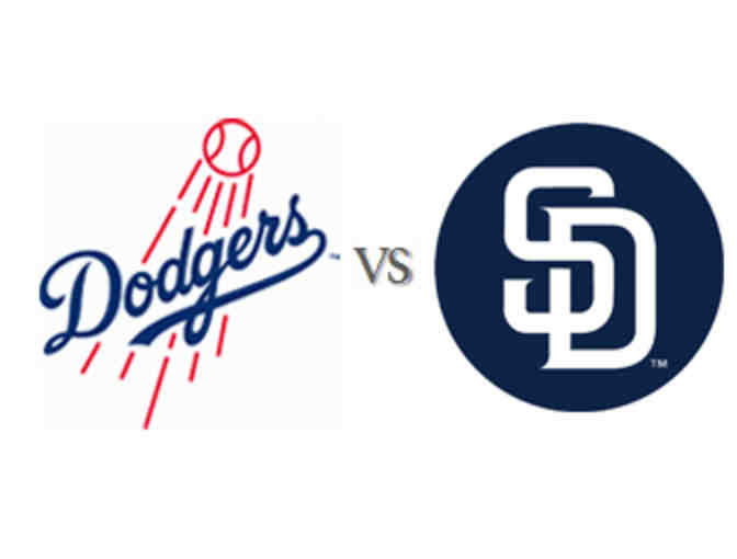 2 Dodgers tickets vs the Padres on Sunday, August 4 at 1:10pm