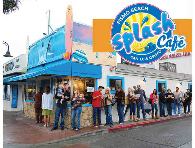 $20 Gift Card for Splash Cafe in Pismo Beach - Photo 1