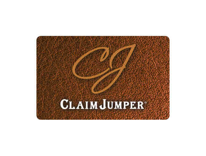 $25 Gift Card for Claim Jumper - Photo 1
