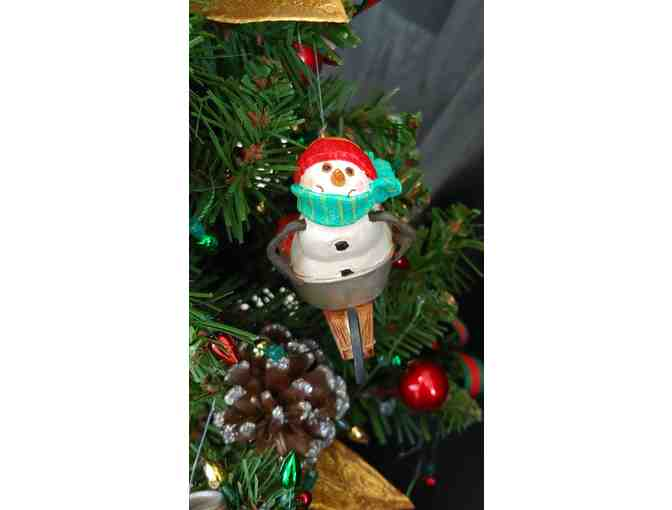 Mitford Snowmen 19' Christmas Tree with Story Book