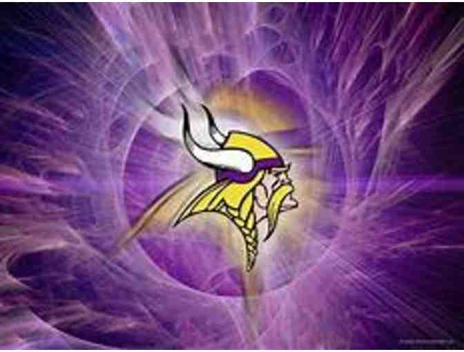 Two (2) MN Vikings Tickets - Photo 1