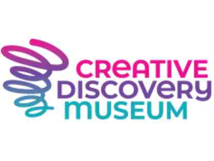Creative Discovery Museum - 4 General Admission Tickets