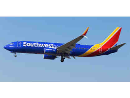 Southwest Airlines Unrestricted Round-Trip Passes for (2)
