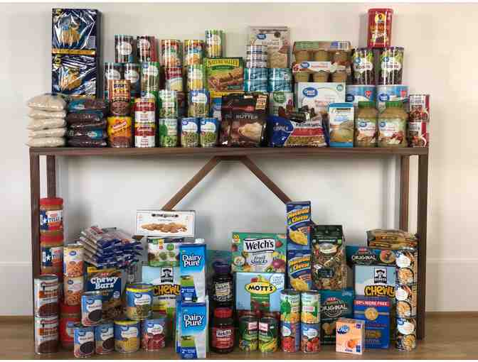 Food Pantry Donation to Heights Interfaith Ministries Food Pantry
