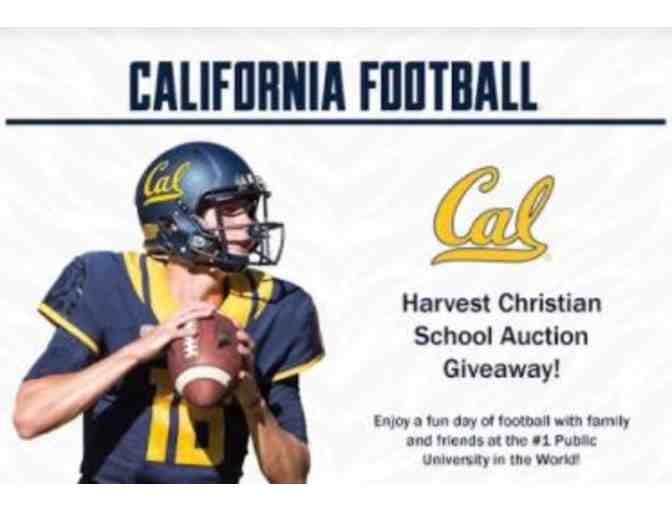 4 Tickets to a Non-Conference Game and Gift Bag - Cal Bears - Photo 1